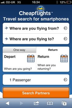 17% of searches for flights are mobile, but are the travel sites? | Econsultancy