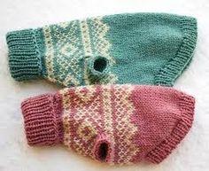 knitting dog sweaters patterns free - Google Search