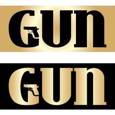 Gun-logó újratöltve Lululemon Logo, Guns, Design, Weapons Guns, Revolvers, Weapons, Rifles, Firearms