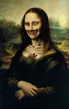 "Give the teens classic works of art to ""zombify"" with paint"