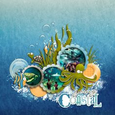 Going-Coastal - core cardstock for background