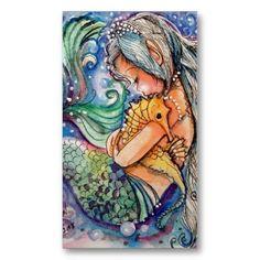 mermaid seahorse tattoo - Google Search