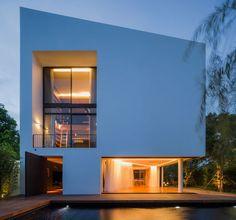 Baan Moom (Corner House), Bangkok, Thailand by IF (Integrated Field)