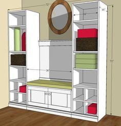 router, modem, etc cabinet | For the Home | Pinterest | Hide ...