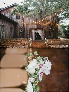 barn ceremony venue. gorgeous.