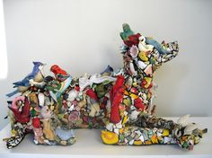 Mary Engle's Sculptures