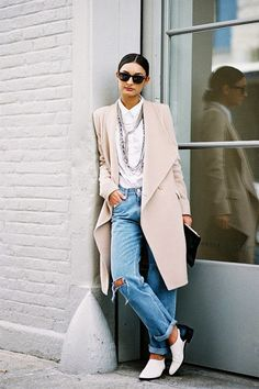 (via Vanessa Jackman: New York Fashion Week AW...  Follow our outfit inspirations on @dressmovement #jointhedressmovement