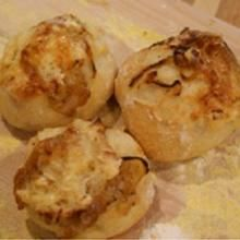 Camembert and Caramelized Onion Dinner Rolls by Jenn