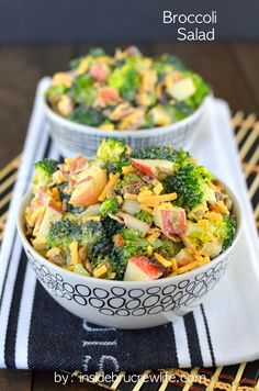 Healthy Broccoli Salad on MyRecipeMagic.com