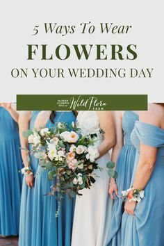 Discover inspirational ideas for your wedding day flowers. The Barn of Chapel Hill is showing you new ways to wear your wedding florals, everything from wearable bridesmaid's bouquets to florals for your pets. Take a look at the blog and be inspired to add wearable flowers to your celebration. Wedding Trends, Wedding Styles, Floral Wedding, Wedding Flowers, Floral Backdrop, Special Flowers, Flower Girl Gifts, Floral Headpiece, Bridal Portraits