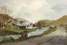 James Fletcher-Watson Art Tutor, Watercolor Subjects, Lovers Art, Painting Inspiration, Painting, Watercolor Architecture, Watercolor Landscape Paintings, Art, Watercolor Artwork