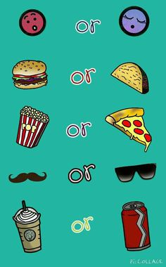 Comment which ones! •asleep... I think •hamburger/cheeseburger •pizza •sunglasses •Starbucks Fun Sleepover Ideas, Sleepover Games, Sleepover Party, Test Your Personality, Best Friend Challenges, Best Friend Quiz, Who Knows Me Best, Question Game, Birthday Party For Teens