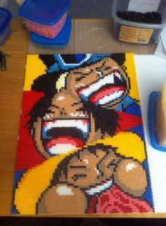 Sabo, Luffy and Ace - One Piece perler beads by Neuscha on DeviantArt