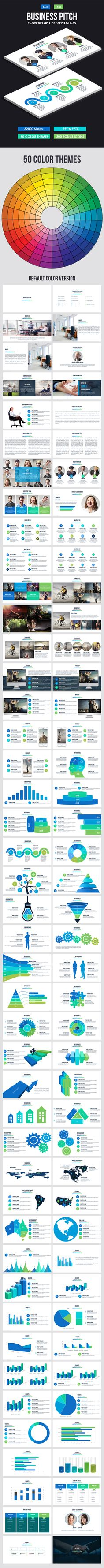 Business Pitch Powerpoint Presentation Template