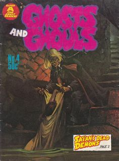 Cover for Ghosts and Ghouls (Gredown, 1970 ? series) #4
