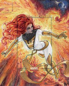 Marvel Universe AP - White Phoenix by *MeghanHetrick