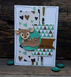 Crea-spul van Colien: Eline's cute animals #4.