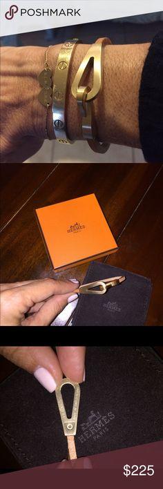 Hermes Bracelet Authentic Hermes bracelet. PRICE IS FIRM Hermes Jewelry Bracelets