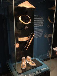 Golden Celtic artifacts at Landesmuseum Wurttemberg