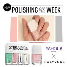 """""""Polishing Off The Week"""" by polyvore-editorial ❤ liked on Polyvore featuring beauty, Formula X, polishingofftheweek, newnownails and realfrenchmanicure"""