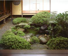 Matsunoshita-ya, Fushimi Inari Shrine:  Landscapes for Small Spaces:  Japanese Courtyard Gardens, by Katsuhiko Mizuno
