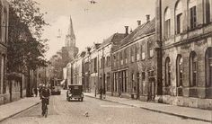 Langestraat ca. New Times, My Town, Netherlands, Holland, Street View, City, Busses, Pictures, Genealogy