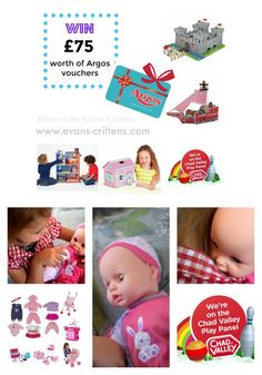Win £75 worth of Argos vouchers with the Chad Valley Play Panel.  http://www.evans-crittens.com/2016/10/celebrate-launch-of-argos-play-panel.html