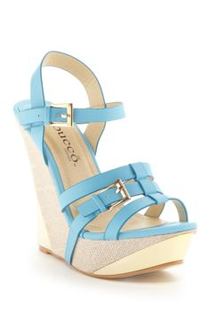 Bucco Susan Wedge Sandal