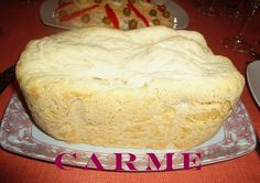 Pan blanco en panificadora