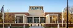 George W Bush Presidential Library and Museum SMU Campus.