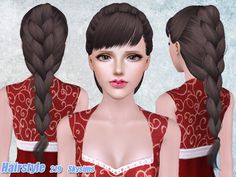 Hair 219 by Skysims - Sims 3 Downloads CC Caboodle
