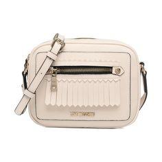 Love Moschino-Fringes bag Crossbody - Handtaschen /weiß