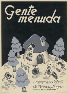 Gente Menuda, 1935, cover by López Rubio