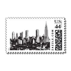 I Love NY D stamps