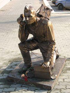 Екатеринбург. Военный связист