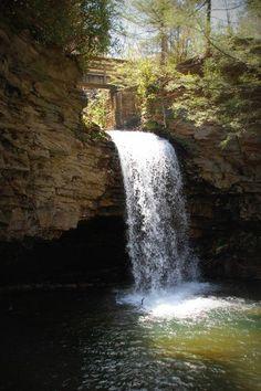 Little Stoney Falls in beautiful Southwest Virginia. Photo by Patsy Ingle Phillips.