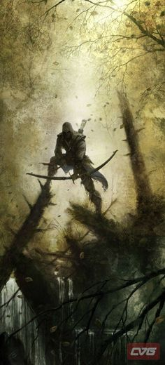 Assassins creed 3 concept art