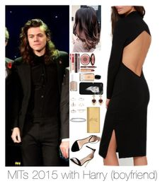 """MITs2015 with Harry"" by myllenna-malik ❤ liked on Polyvore featuring Payne, Zara, Charlotte Tilbury, Essie, Giorgio Armani, White House Black Market, Blue Nile, Topshop, Yves Saint Laurent and OneDirection"