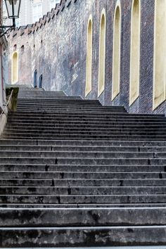 Steps To The Castle by Paul Richards on 500px