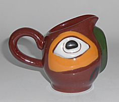 Totem Pottery Blake Island Blaisdell Creamer Mint