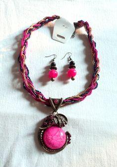 Buy Anaaya vintage #necklace set with #earrings online at #craftshopsindia