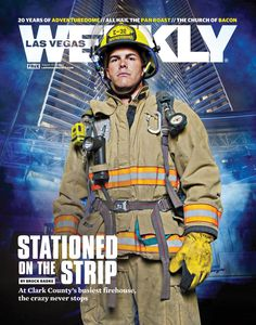 Stationed on the Strip: The crazy never stops at #LasVegas' busiest firehouse.