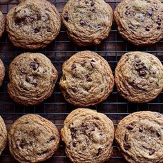 work with about three different variations of chocolate chip cookies ...