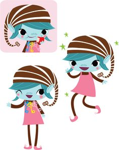 Brownie logo clip art | Brownie Elves for The Girl Scouts of America (2008)