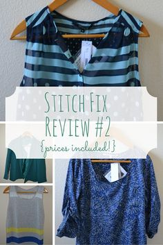This was a Stitch Fix box full of outfits for Summer and Spring. This is such a great subscription box!
