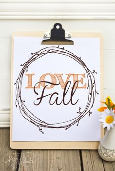 20+ Free Fall Printables For Your Home