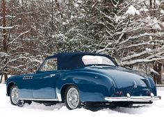 1951 Delahaye 235 M Chapron Cabriolet..Re-pin...Brought to you by #CarInsurance at #HouseofInsurance in Eugene, Oregon