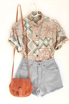 17 Teenage Spring & Summer Outfit With Shirt – Top Trend On Famous Fashion Blog - DIY Craft (10)