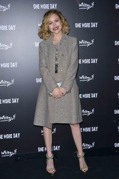 #TatianaLuter in occasione della premiere del film 'One More Day' ha scelto di indossare #AlbertaFerretti Tatiana Luter wearing Alberta Ferretti May 2015