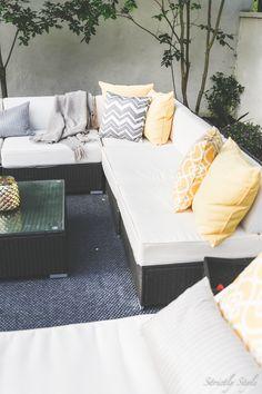 outdoor living backyard patio
